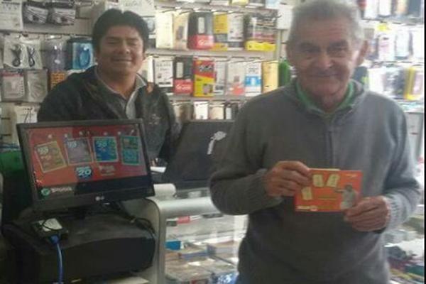 Abuelito de chañaral jugó un «raspe» y ganó $15 millones
