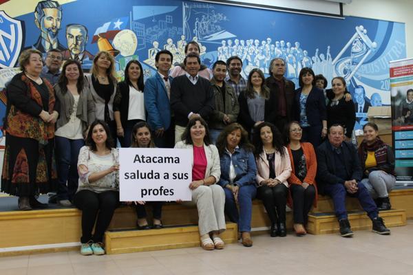 Seremi Pilar Soto celebra el Día del Profesor con docentes del Mineduc