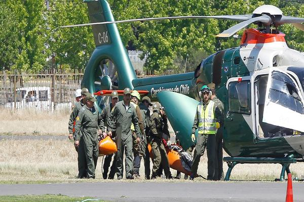 Cuerpos de Joaquín y Vicente fueron trasladados al Servicio Médico Legal
