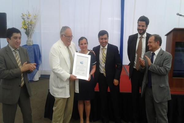 Clínica Atacama recibió certificado de acreditación de calidad
