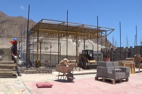 Obras del programa «Quiero mi barrio»de Chañaral fueron inspeccionadas por la direccion regional del Serviu