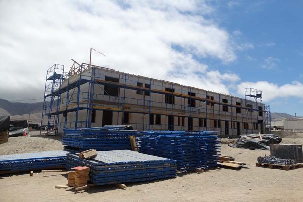 En Chañaral inauguran primer edificio en madera del país
