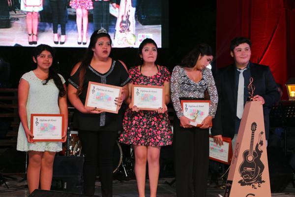 Estudiante tuvieron su Festival en Caldera