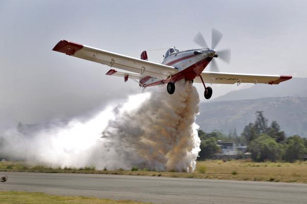Gobierno amplía flota aérea tras  incorporación del AirTractor AT-802