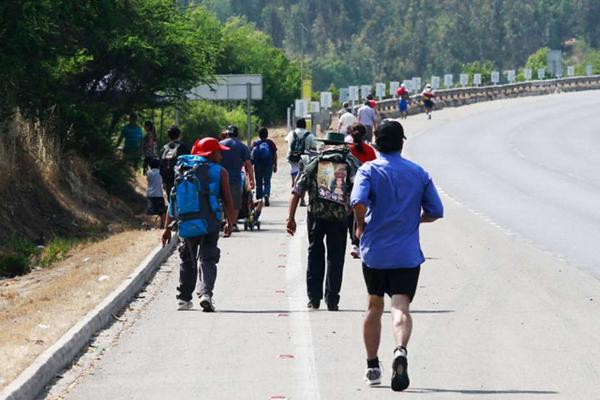 Hombre fallece en ruta 68 durante peregrinación a Lo Vásquez