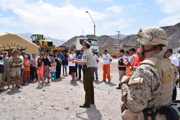 Más de 600 personas participan de exitoso Simulacro de Aluvión organizado por Gobernación Copiapó