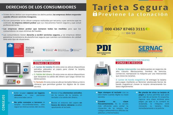 PDI Copiapo entrega consejos para evitar clonacion de tarjetas bancarias