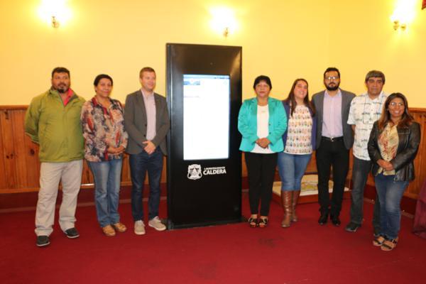 CALDERA CUENTA CON NUEVA TECNOLOGIA DE INFORMACION TURISTICA
