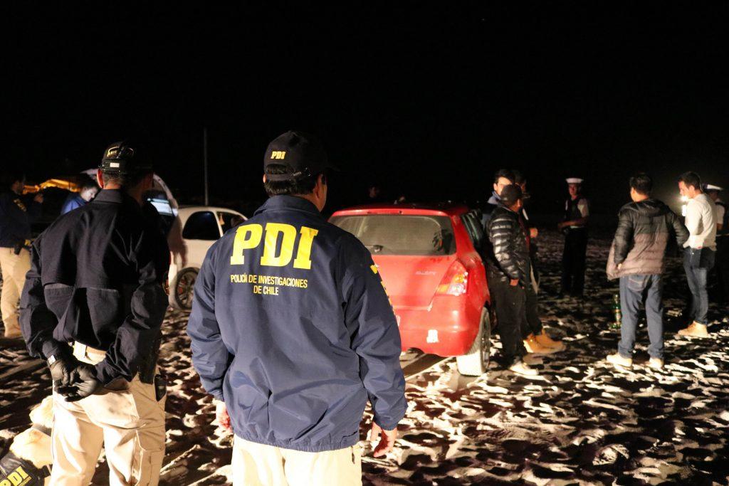PDI y armada realizan acción policial focalizada en playas de Caldera