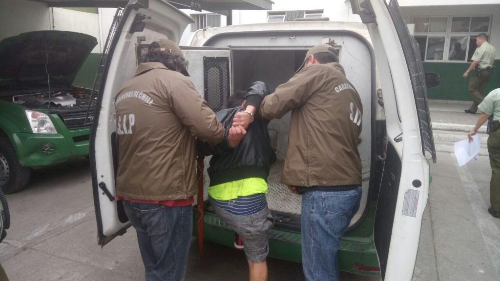 Delincuente fue detenido por carabineros en Vallenar