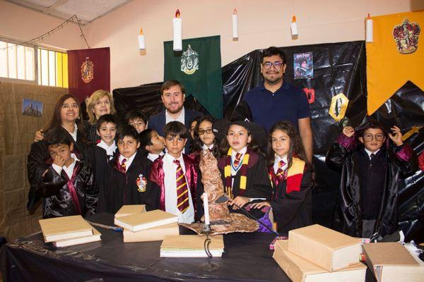 Alumnos de Freirina celebra Dia del Libro con novedosa actividad
