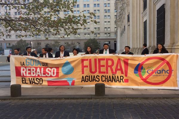 Alcaldes de Atacama denuncian ante Econssa mala administracion de Aguas Chañar