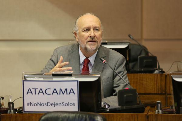"""Prokurica: """"Si el Gobierno recorta recursos del FNDR a la Región de Atacama, me opondré a la capitalización de Enap y de TVN"""""""