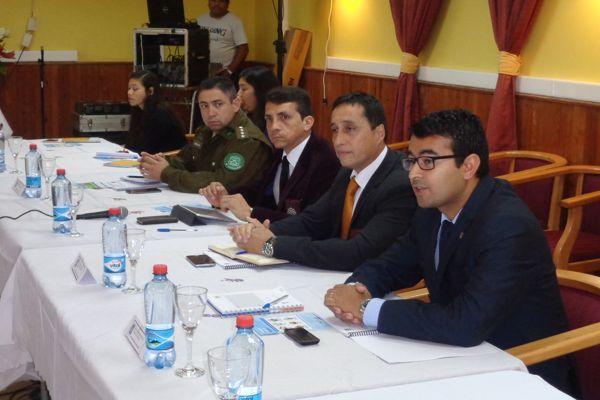 Fiscalía aportará al trabajo del Consejo de Seguridad Pública en Diego de Almagro