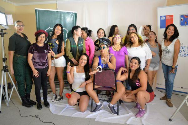 Realizan taller buen vivir en la sexualidad dirigido a internas de unidad penal de Chañaral