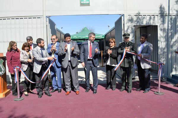 Inaguran centro abierto de Gerdarmeria en Vallenar