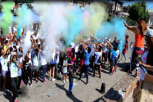 Fiesta Color Run por la nueva Educación Pública