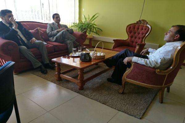 PDI de Chañaral sostiene reunion con alcalde para aunar esfuerzo en temas de seguridad