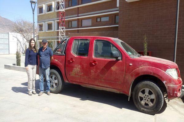 PDI y vecino de Chañaral ayudan a devolver vehiculo robado