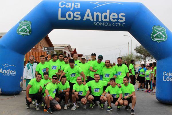 Cerca de 300 personas participaron de la corrida carabineros de Chile