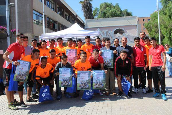Jugadores de Deportes Copiapo se suman al Censo 2017