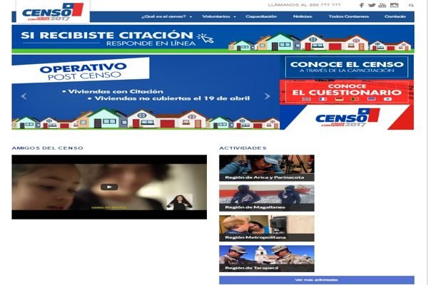 INE implementa inédito sistema en línea para responder el Censo 2017