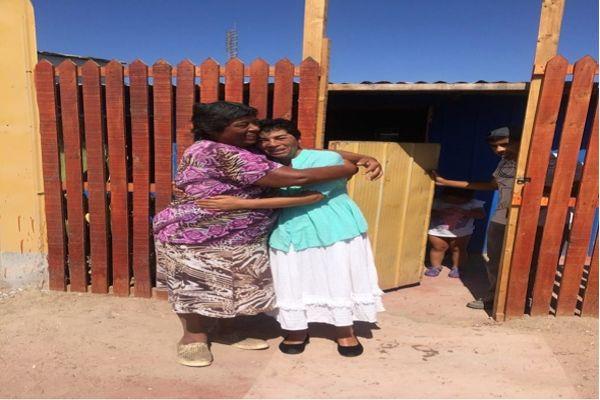 Carabineros de Chañaral hizo posible reencuentro de hermanas