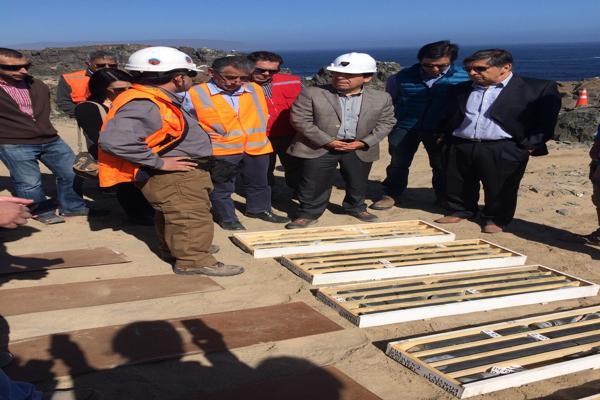 """Planta desalinizadora para Copiapó, Tierra Amarilla Chañaral y Caldera avanza conforme a lo planificado"""""""