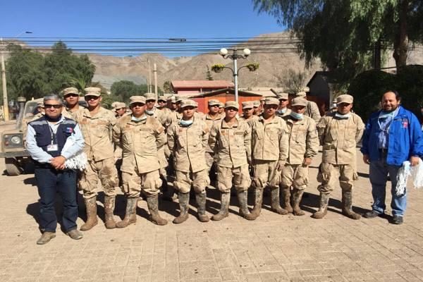 Seremi de Salud continúa con labores de emergencia en el sector Juan Martínez