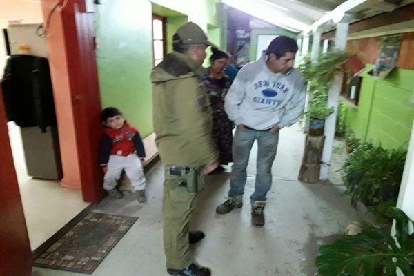 En Alto del Carmen Carabineros dispuso puesto de mando para coordinar servicios preventivos