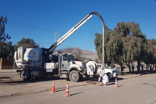 Suministro de agua potable llega a todas las zonas afectadas en la región de Atacama