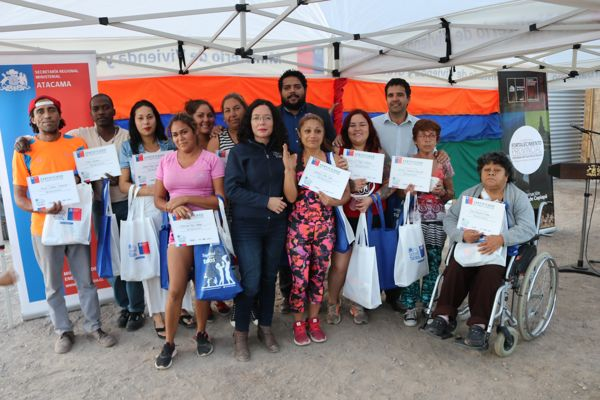 Gobernación de Copiapó realiza lanzamiento de proyecto Eco Módulos Sustentables en Barrio de Juan Pablo II
