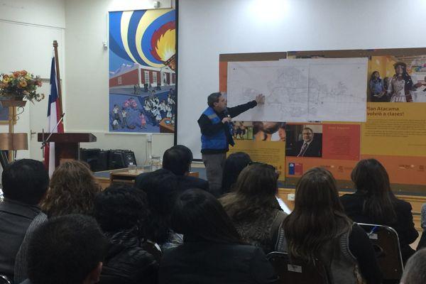 Seremi de Educación se reunió con sostenedores de establecimientos educacionales de Copiapó para evaluar plan retorno a clases