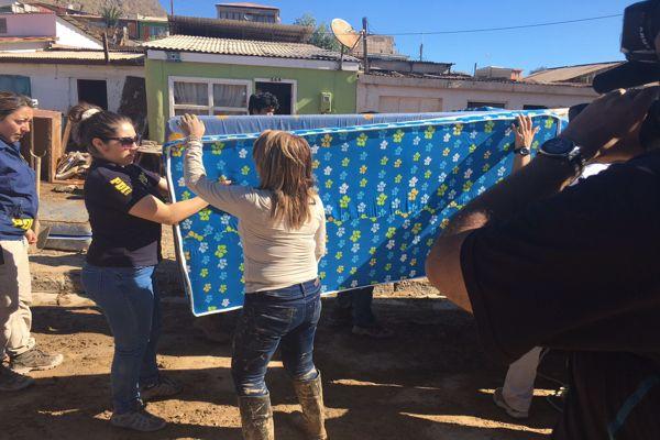 Detectives colaboran con damnificados en zonas afectadas por emergencia en Atacama