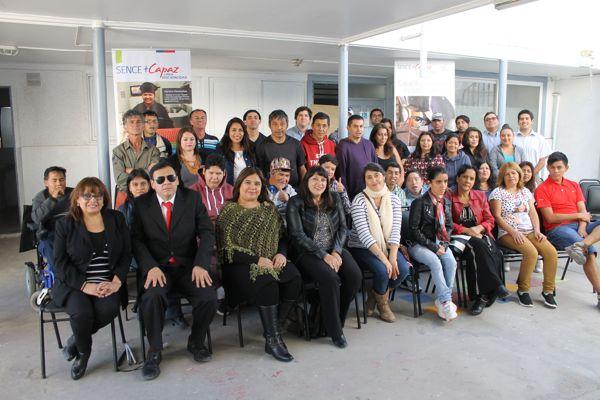 Lanzan cursos del programa Más Capaz para personas en situación de discapacidad en Copiapó