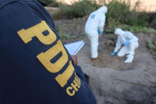 PDI Atacama investiga hallazgo de osamentas humanas en Vallenar