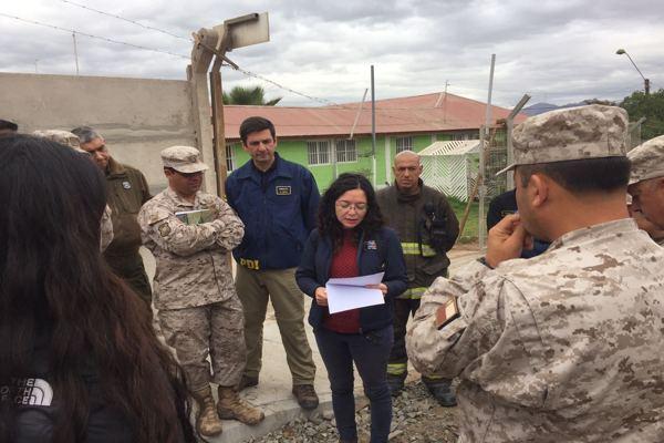 Amplio despliegue de detectives de la PDI en la Región de Atacama por lluvias
