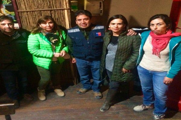 Intendente Vargas y Directora regional del SERCOTEC se reunieron con emprendedores del Barrio Alameda de Copiapó