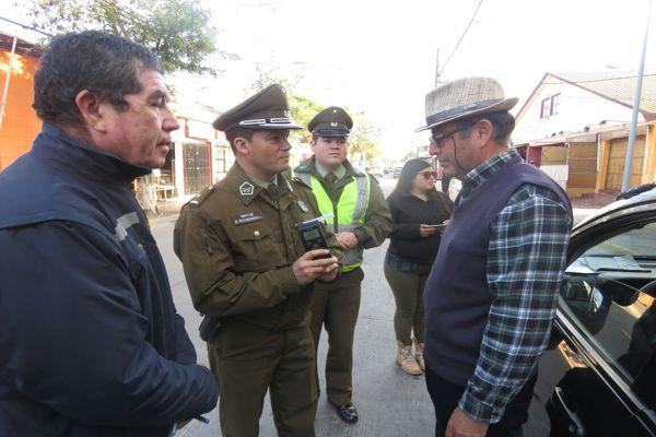 En Vallenar realizan campaña para evitar conducción bajo los efectos del alcohol