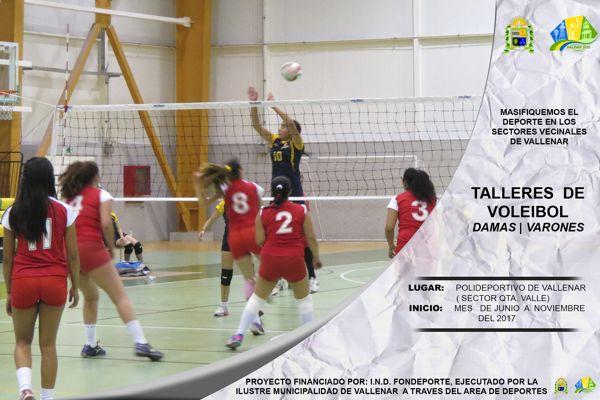 Municipio de Vallenar inició programas de masificación del Deporte.