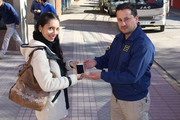 PDI Atacama recupera celular gracias a selfies de imputada que se vincularon a cuenta icloud de afectada