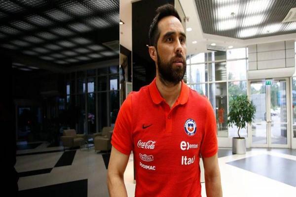 Rueda confirma el regreso de Claudio Bravo a la selección chilena y lo probará ante Haití para la Copa América