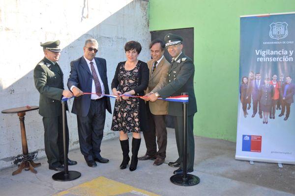 Inauguran espacio para visitas conyugales en el CCP de Copiapo
