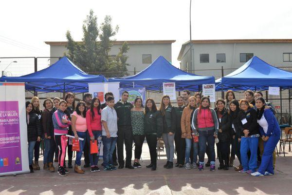 En la unidad penal de Vallenar se realizo jornada de difusión para internas