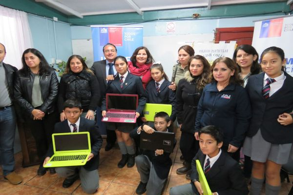 Gobierno ha entregado casi 11 mil computadores y conectividad gratuita a estudiantes de 7 básico