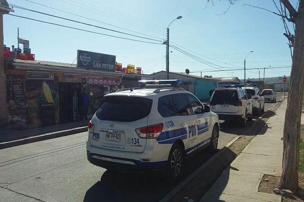Intensas deligencias realiza la PDI en Vallenar por violentos hechos ocurridos en la madrugada