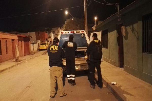 PDI investiga muerte y hallazgo de cadáver en Copiapo