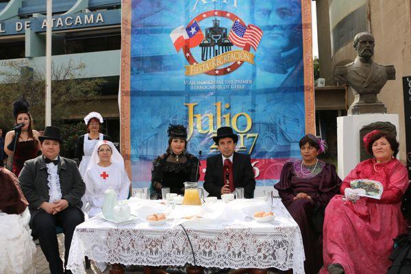Lanzamiento de la fiesta cultural mas bella de Atacama