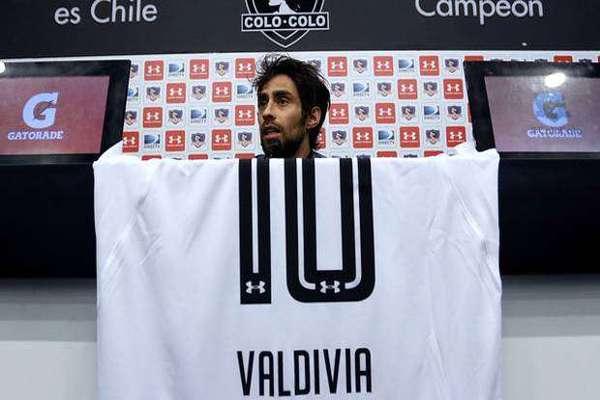 Jorge Valdivia y su debut en Colo Colo