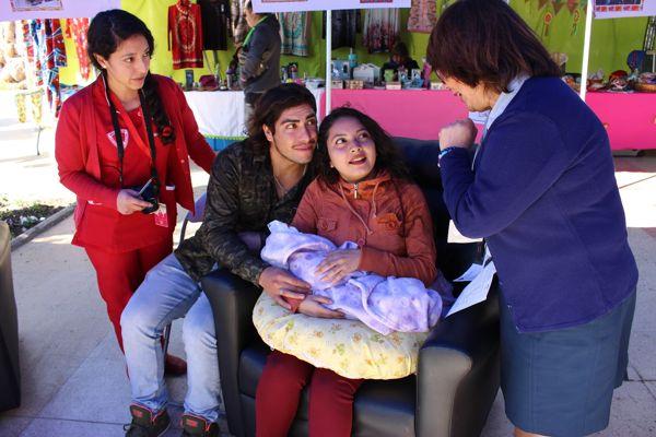 Feria de Lactancia Materna en Atacama difundió los beneficios de esta alimentación desde el primer minuto de vida